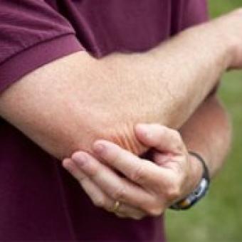 Локоть гольфиста (медиальный эпикондилит)